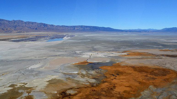 Owens Lake, California. Photo Courtesy of Kirk Siegler/NPR 2013